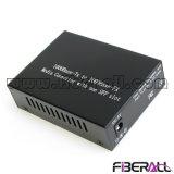 Conversor de mídia de fibra SFP Gigabit com 1,25g Transceptor óptico SFP