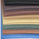 Cuir artificiel en PVC de qualité pour le canapé (B-801-1)
