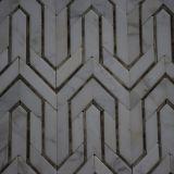 De Tegel van de Muur van de badkamers, Steen van het Mozaïek van het Ontwerp van het Mozaïek de Onregelmatige