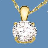 pendente dell'oro giallo 9k con la pietra preziosa (LPG1112)