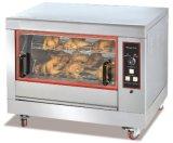 Rotisserie de gaz pour le four de four de poulet de machine de gril de BBQ de pilon frit par ailes de poulet rôti pour la machine de matériel de système de cafétéria de casse-croûte de café de boulangerie de restaurant