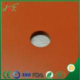 Rilievo della piastrina dello strato della gomma di silicone per la pressa a temperatura elevata di calore