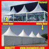 Tenda trasparente del Pagoda dell'alto picco della tenda libera per l'ospite di Seater delle 100 genti