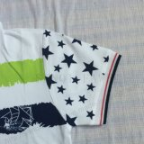 Polo Polo Green Color en vêtements pour enfants Sq-6220