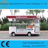 De populaire Vrachtwagen van het Voedsel van het Baksel voor Verkoop met het Tonen van Kabinet (CE)