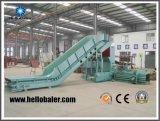 Cost Effective Horizontal Hydraulic Press Straw Baler plant for Power