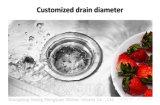 Раковина нержавеющей стали с 1 шаром для кухни