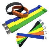 Силиконовый браслет USB