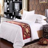 100% полиэстер индивидуальные отель кровать шарфом (DPH6199)