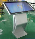 soporte todo del suelo 55inch en un quiosco de la pantalla táctil