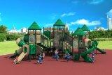 Скольжение HD17-009A 2017 детей оборудования спортивной площадки новой конструкции напольное