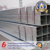 Qualität galvanisiertes quadratisches Stahlrohr