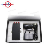 Mini-Pocket tri-Band GSM/3G/GPS Jammer, tot 10 Meters, tot 2 Hours Continuous Use op Full Charge