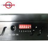 Draagbare Blocker van 5 Banden voor de Cellulaire Telefoon van /3G/4G, WiFi, GPS, Lojack, de Mobiele Stoorzender van het Signaal; 5 de Stoorzender van de antenne; Blokkerend voor Lojack, GSM, GPS, Cellulaire Stoorzender