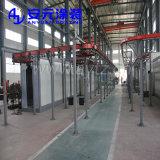 Potência e livre de plantas de pintura por pó do transportador para o perfil de alumínio