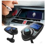 Bluetooth FM Transmitter/Ld 디자인 핸즈프리 음악 실행 안전한 USB 차 책임을%s 가진 무선 in-Car FM 접합기 차 장비