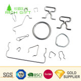 Fabricante China Cable Personalizado Clip espiral de la formación de las piezas de hardware de la bobina de acero de precisión muelle deformado de torsión