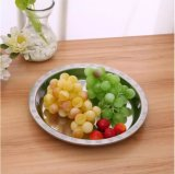 Hotsale platos de acero inoxidable y la cena Fruta