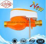 Metro ad acqua elettronico a lettura diretta di controllo della valvola (colore arancione)