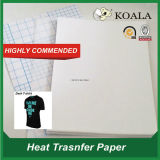 Camiseta de algodón de papel de transferencia de calor