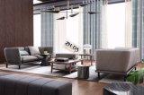 현대 디자인 거실을%s 파란 코너 직물 소파