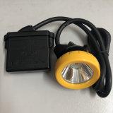 LED de luz de casco de seguridad de la luz de la tapa de minería de la Lámpara Minera