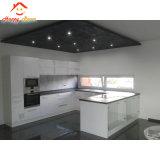 Finestra di scivolamento di alluminio/di alluminio della cucina di profilo con le rotaie d'attaccatura