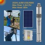 3-дюймовый винт солнечной энергии на насос, солнечной фонтан насоса, солнечной внутренний сад насоса