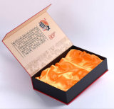 Custom жестких аппаратов Рождество упаковки бумаги, сдобное украшения подарочные картонная коробка, духи косметический окно просмотра, Торт шоколадный Mooncake упаковке