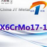 X6crmo17-1 de Pijp van de Plaat van de Staaf van het roestvrij staal