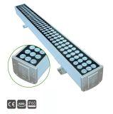 4en1 RGBW18X5W de iluminación exterior LED bañador de pared