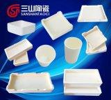 Allumina Saggar di ceramica con resistenza a temperatura elevata oltre 1500 centigradi