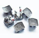 Zahnmedizinisches orthodontisches bukkales Gefäß des Metallspritzen-MIM