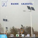 Baodeは屋外の6mの30Wバッテリー・バックアップの太陽街灯をつける