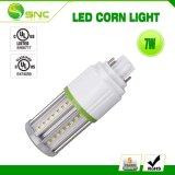 LED 7W de luz de maíz de 360 grados de ángulo de visión sin ventilador