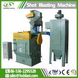 Caricamento automatico e scaricare la macchina di brillamento della rotella della cinghia di caduta per i piccoli oggetti del metallo