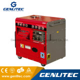 Шумоизоляция 5 КВА дизельный генератор с De186fae 10л.с.