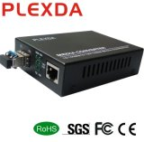 10/100/1000m en fibre Media Converter pour port SFP Gigabit Ethernet