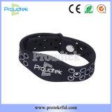 In te ademen Comfortabele Aangepaste Manchet RFID/Armband voor het Trefpunt van de Sport