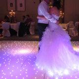 Grand Prix Télécommande sans fil Twinkle LED blanche plancher de danse de mariage