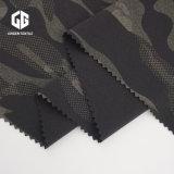 Tissu imprimé camouflage en étoffe de bonneterie pour sublimation Processus de transfert de chaleur
