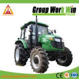 Grande puissance tracteur agricole 4RM avec chargeur frontal pour la vente