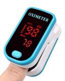 Figura o oxímetro de pulso a monitores de oximetria de medidor de sangue