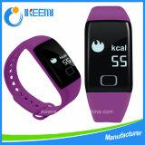 심박수 적당 Bluetooth 스포츠 지능적인 팔찌 (T1S)
