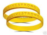 Braccialetto impresso di promozione del braccialetto di Debossed del Wristband