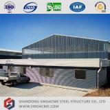 Estructura de la viga metálica prefabricada Sinoacme Almacén