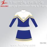 Projeto do Sublimation de Healong algum uniforme barato do Cheerleading do logotipo