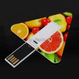 Triângulo de promoção de venda quente unidade Flash USB de cartão (UL-P033)