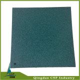 Espesor de goma del azulejo del patio colorido a partir 10m m hasta 50m m
