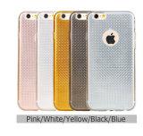 2016 cajas suaves de lujo del teléfono de Bling TPU de la nueva llegada para la caja de los accesorios del teléfono móvil 6s del iPhone 6 del iPhone 5/5se